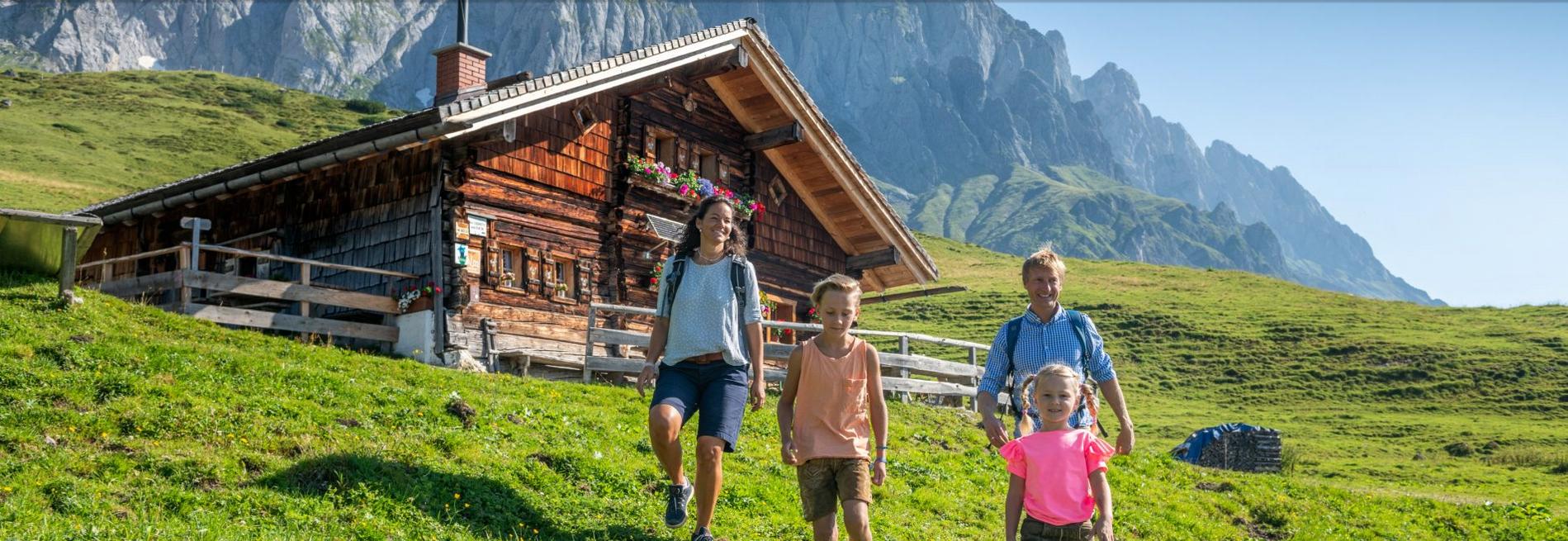 Kinderleicht Wandern im Pongau