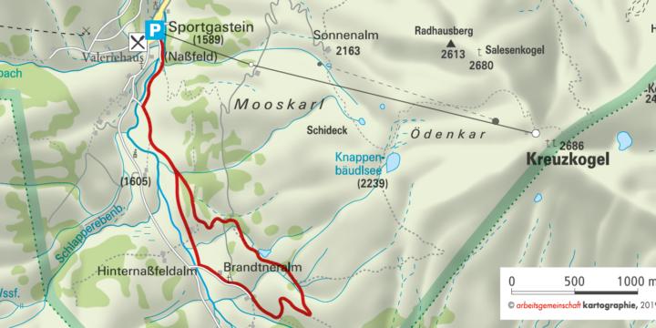 Bad Gastein: Naturschauweg Sportgastein