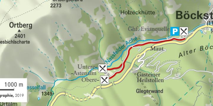 Wanderung zu den Astenalmen in Bad Gastein