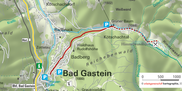 Bad Gastein Kaiser-Wilhelm Promenade