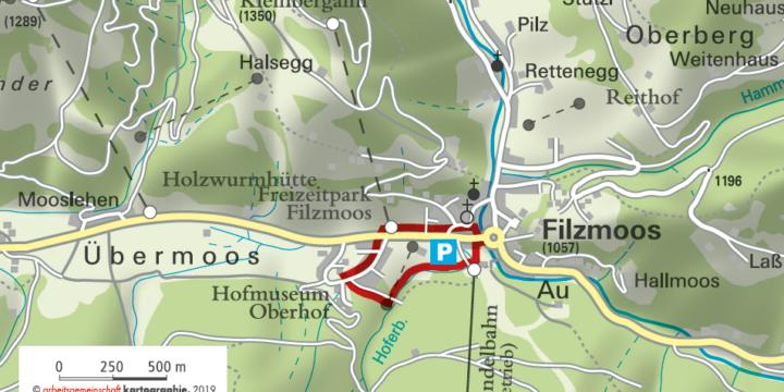UNICEF-Herzerlweg in Filzmoos
