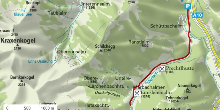 Flachauwinkl - Marbachtal