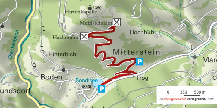 Meislsteinalm Goldegg-Weng