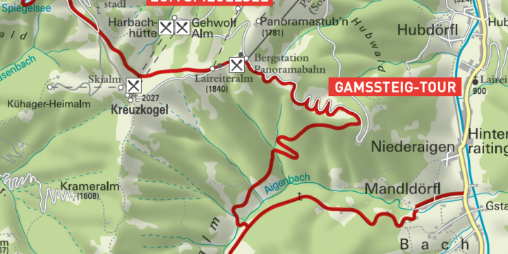 Gamssteig-Tour in Großarl