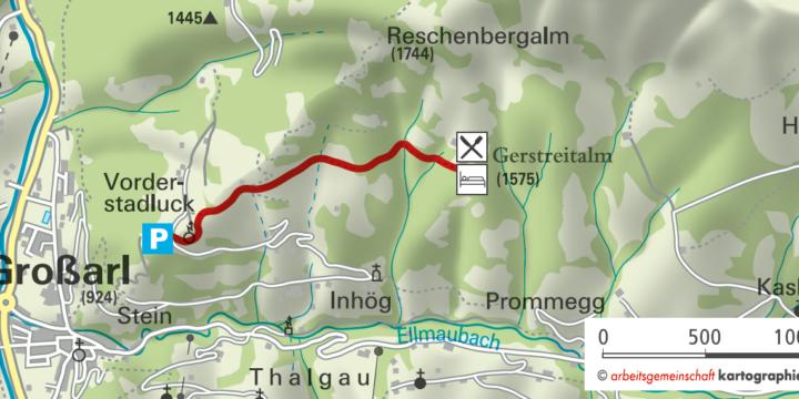 Wanderung zur Gerstreitalm