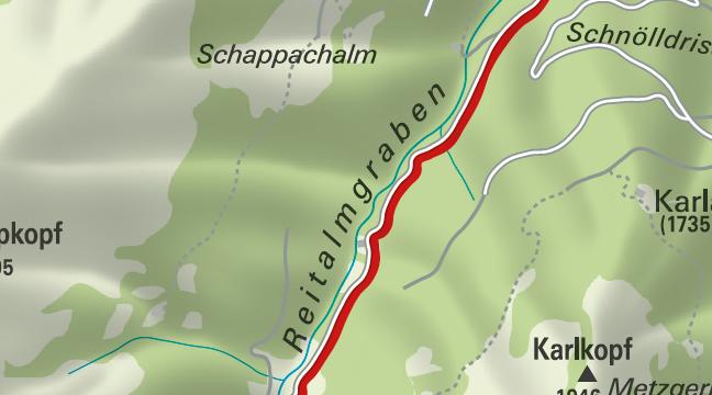 Wanderung zur Reitalm in Hüttschlag