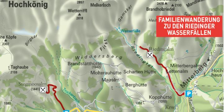 Riedinger Wasserfälle Mühlbach