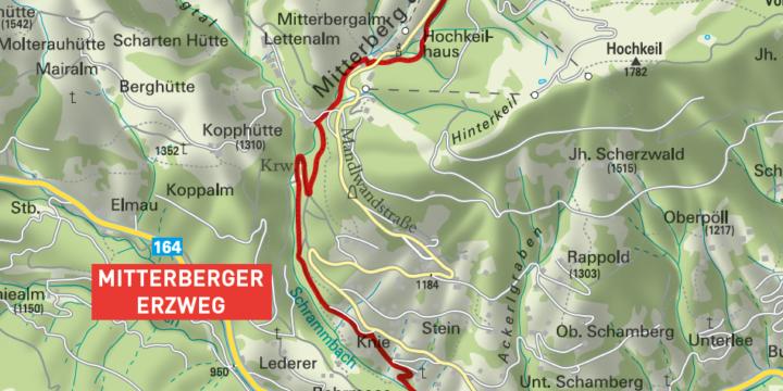 Mitterberger Erzweg, Mühlbach
