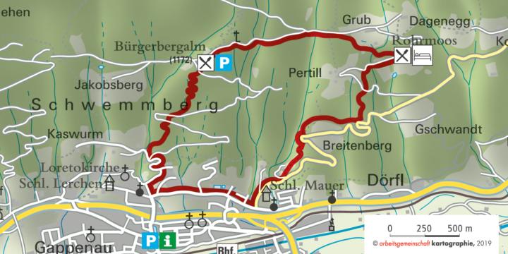 Radstadt Bürgerbergalm Rohrmoos Radstadt