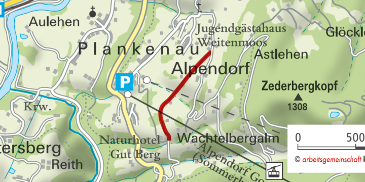 St.Johann Alpendorf: Baumlehrpfad