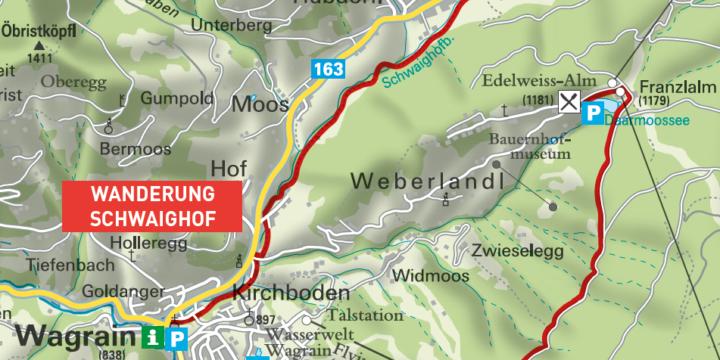 Von der Edelweißalm zur Berghofalm in Wagrain