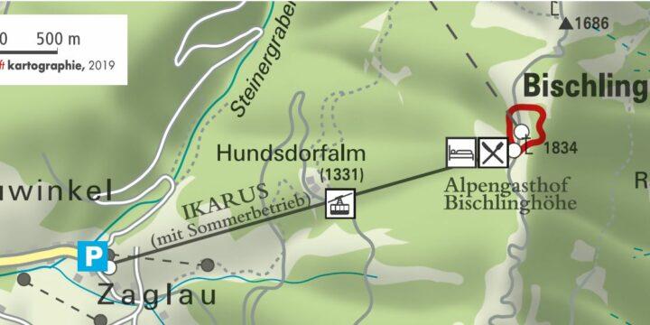 Ikarus Höhenweg Werfenweng